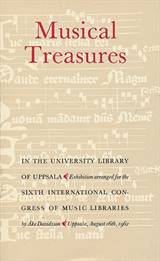 0001: Musical treasures in the University Library of Uppsald